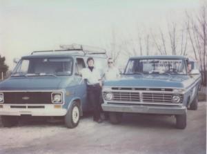 Alan, Ted (Alan's Father), and Chad (Alan's Nephew) 1978