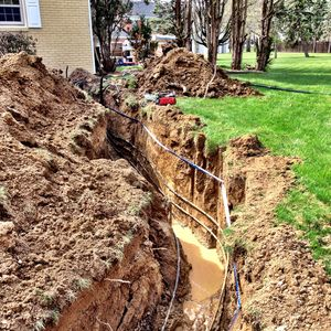Control Tech Zionsville Indianapolis Geothermal Trench