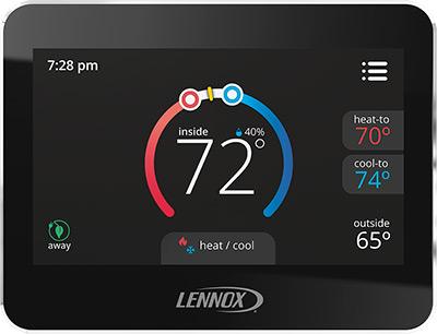 Lennox ComfortSense 7500